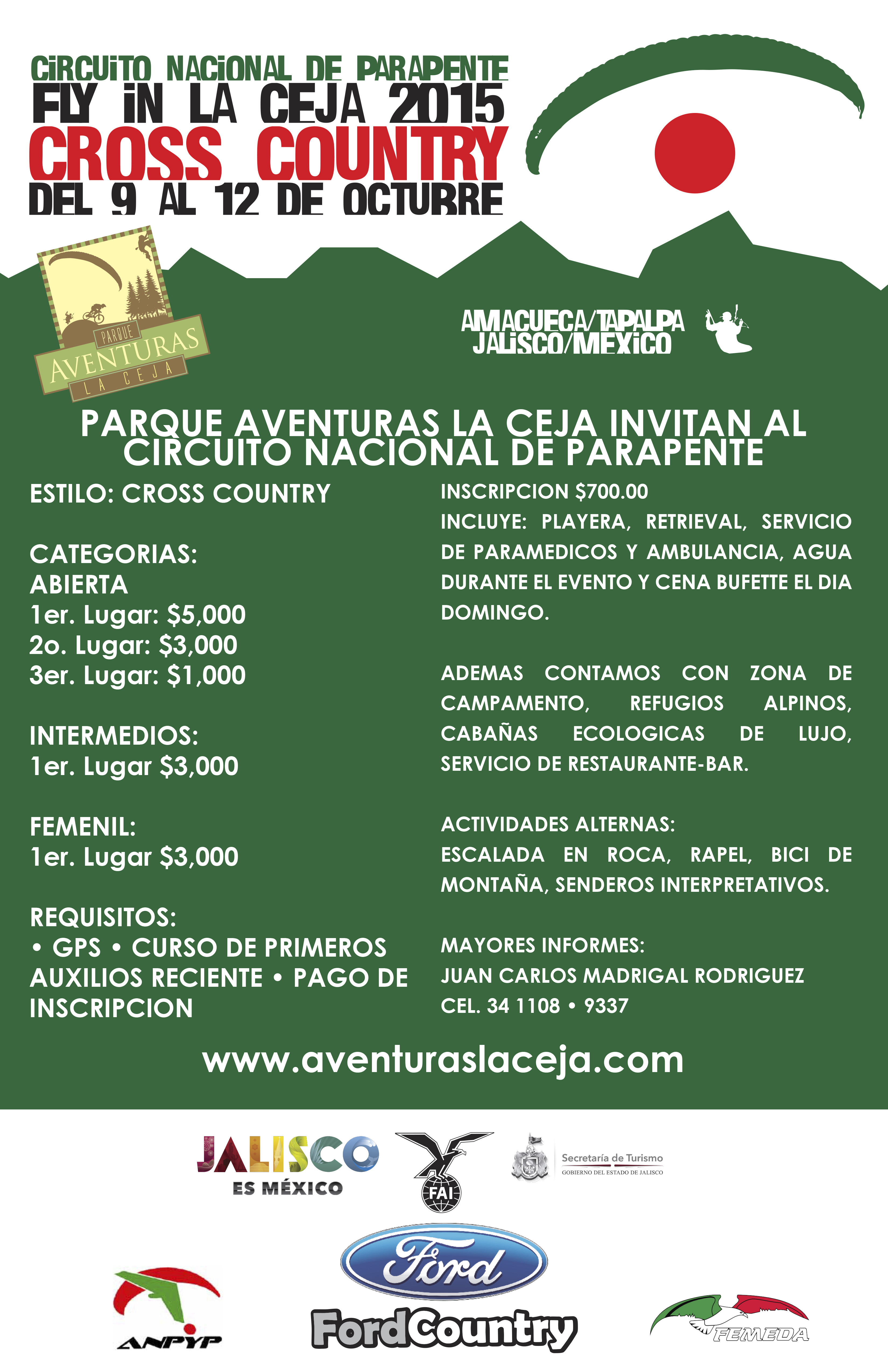 Invitación! Fly in La Ceja copy